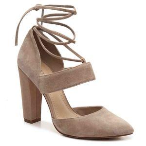 BCBG | Genuine Leather Suede Heel Carica